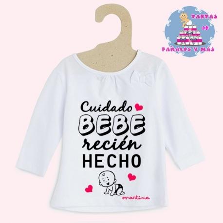 Camiseta bebé chica