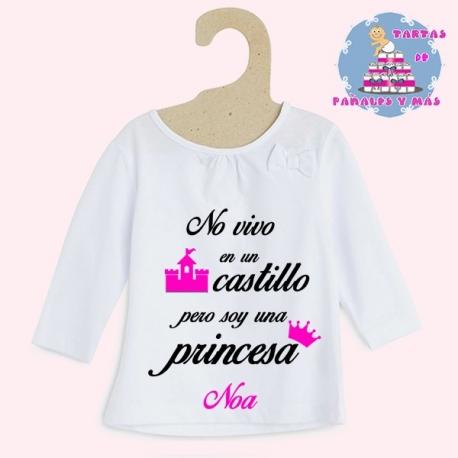 Camiseta castillo chica