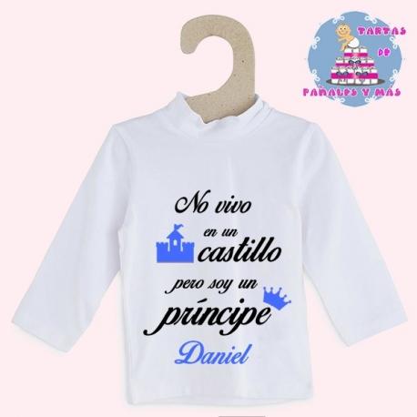 Camiseta castillo chico