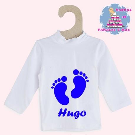 Camiseta pies chico