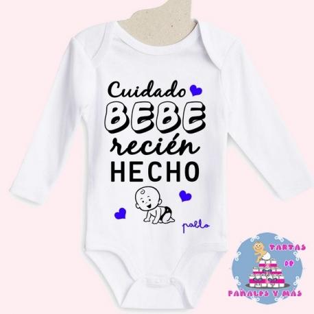 Bodi bebé recién hecho chico