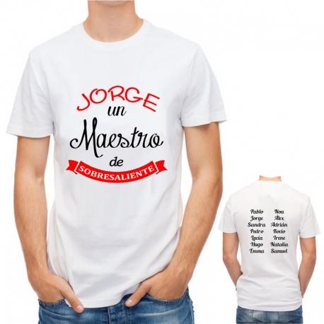 Camiseta MAESTRO