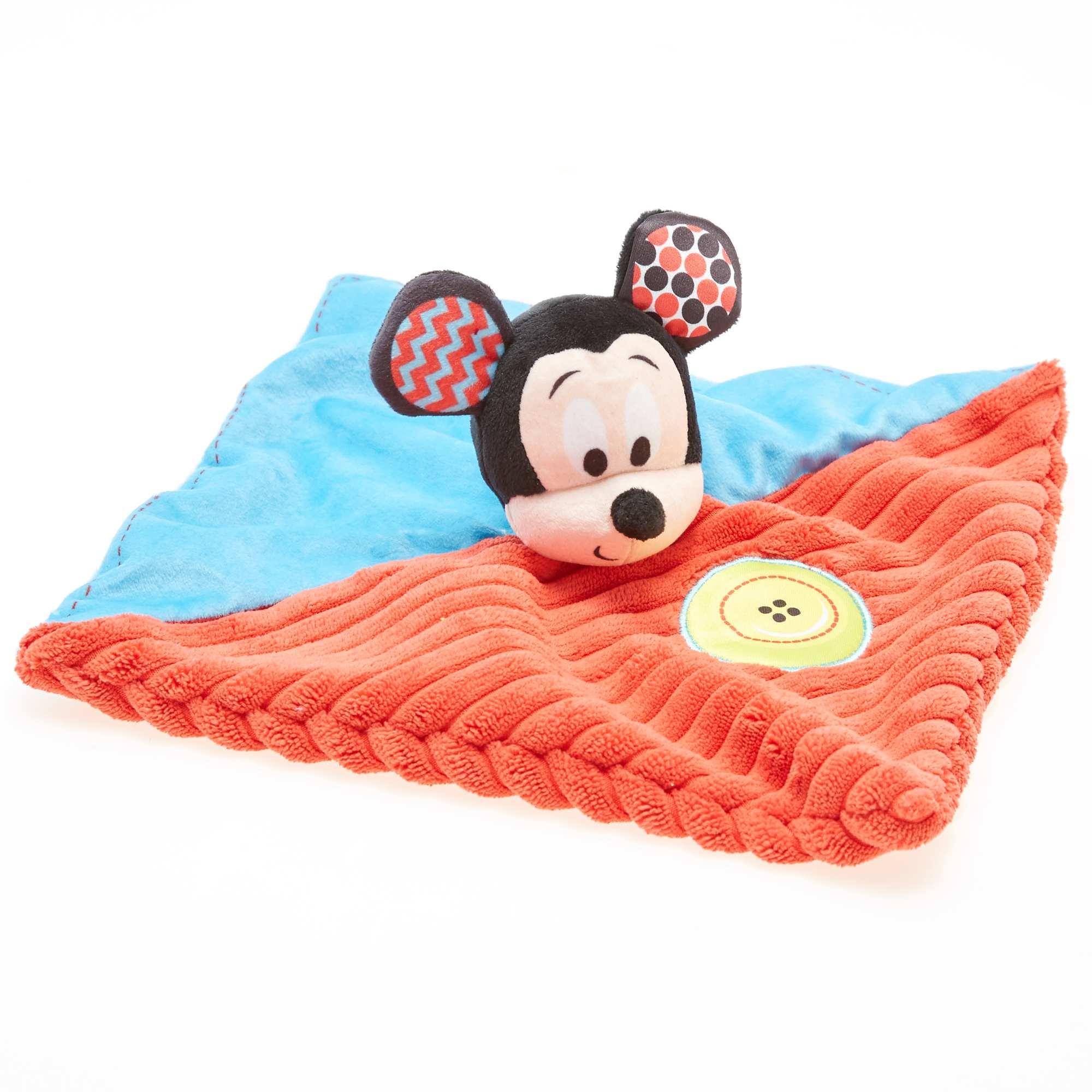 Doudou Mickey bicolor