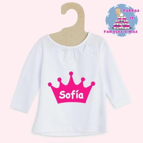 Camiseta princesa chica