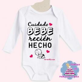 Bodi bebé recién hecho chica