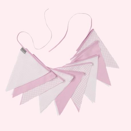 Banderolas piqué rosa