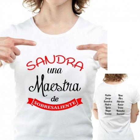 Camiseta MAESTRA