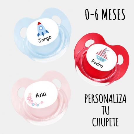Chupete PERSONALIZADO 0-6 MESES