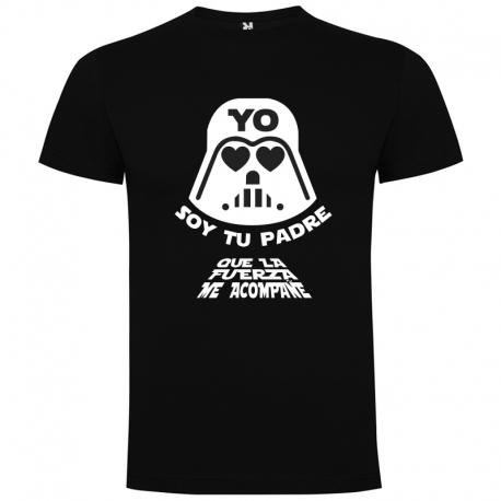 Camiseta papá STAR WARS + CAJA REGALO