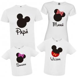 Camisetas familia DISNEY