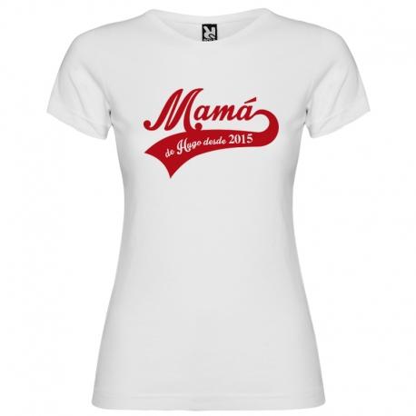 Camiseta MAMÁ + CAJA REGALO
