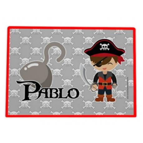 Mantel hule individual personalizado - PIRATA