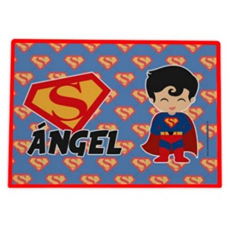 Mantel hule individual personalizado - SUPERMAN