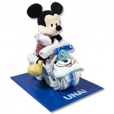 Moto de pañales DELUXE Mickey