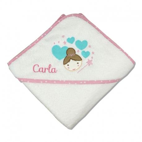 Capa de baño personalizada Hada