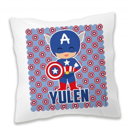 Cojín personalizado Capitán América