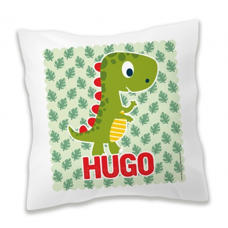 Cojín personalizado Dinosaurio