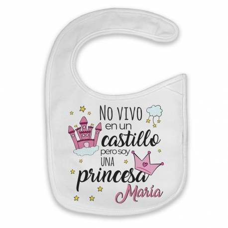 Babero cuento princesa