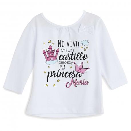 Camiseta cuento princesa