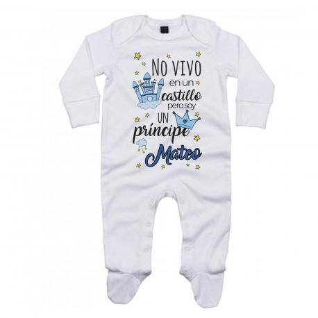 Pijama cuento personalizado PRÍNCIPE