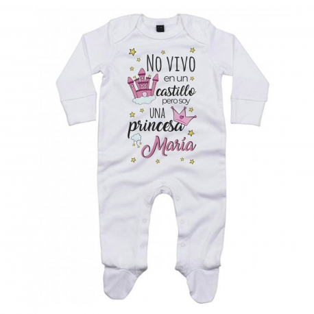Pijama cuento personalizado PRINCESA