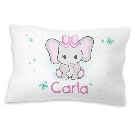 Almohada personalizada elefanta