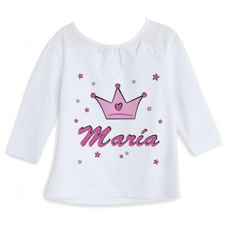 Camiseta personalizada princesa