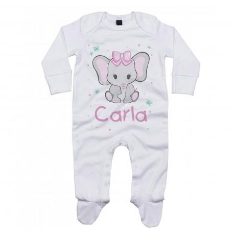 Pijama personalizado elefanta