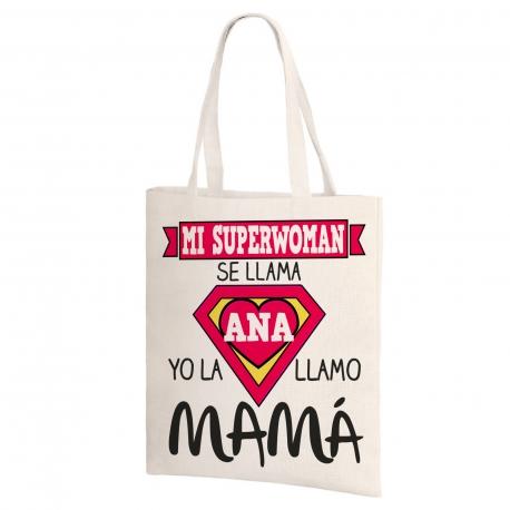 Bolsa de lino - SUPERMAMÁ