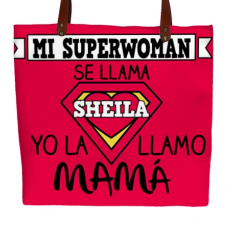 Bolso polipiel SUPERWOMAN MAMÁ