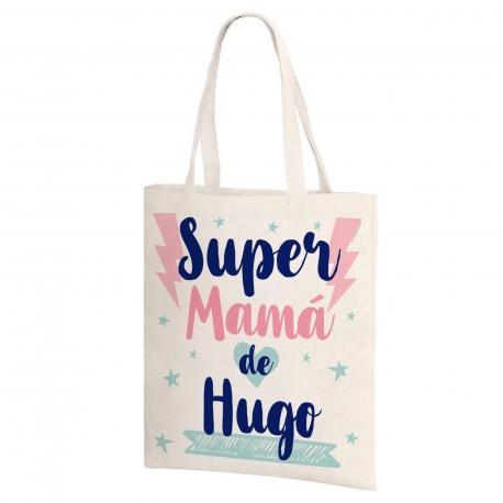 Bolsa de lino - SUPER MAMÁ