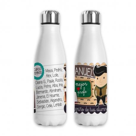 Botella profesor moreno - Original