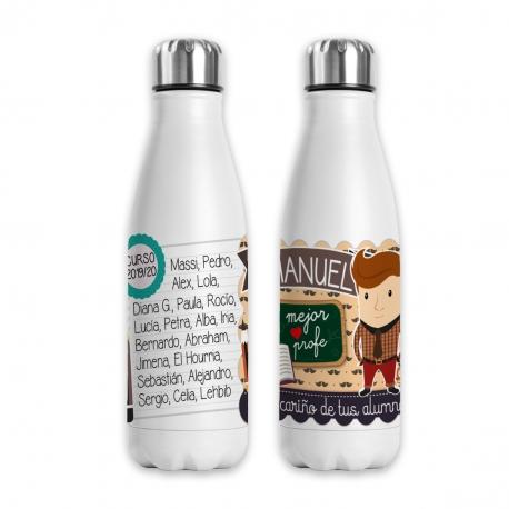 Botella profesor castaño - Original