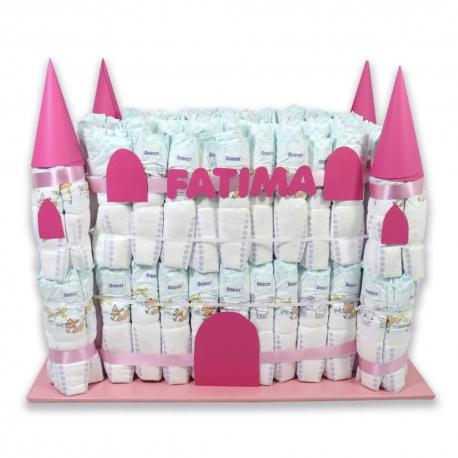 Castillo de pañales Grande NIÑA