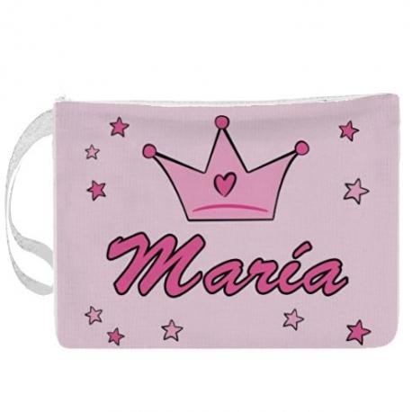 Portapañales personalizado princesa