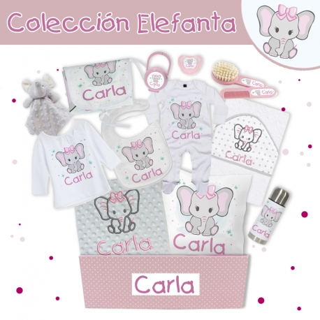 Canastilla personalizada - ELEFANTA