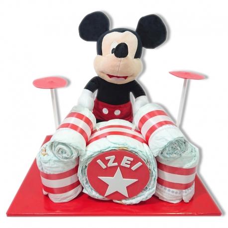 Batería de pañales ROJA Mickey