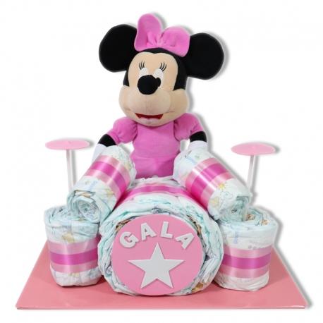 Batería de pañales ROSA Minnie