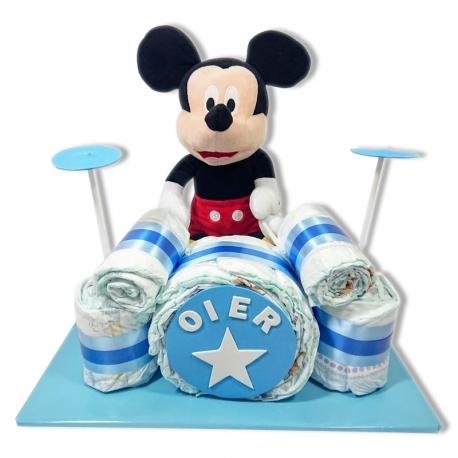 Batería de pañales AZUL Mickey