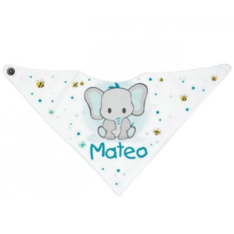Bandana personalizado elefante