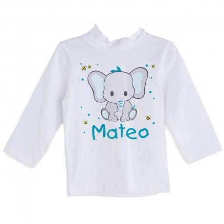 Camiseta personalizada elefante