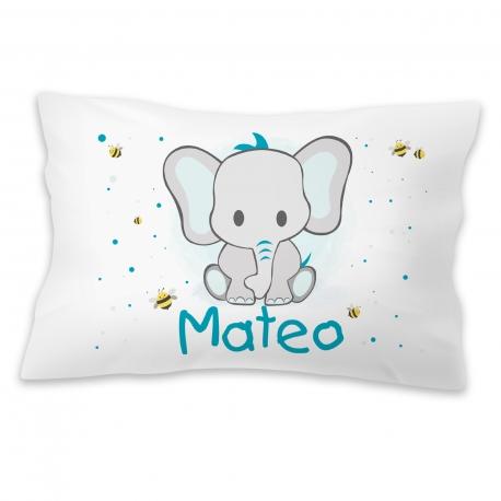 Almohada personalizada elefante