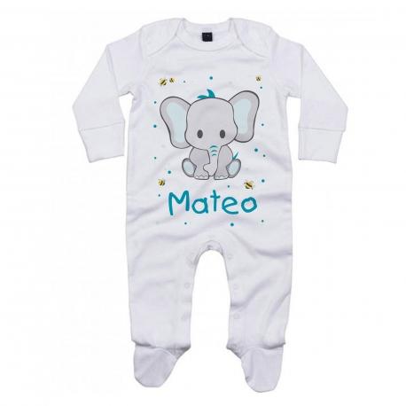 Pijama personalizado elefante