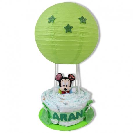 Globo de pañales VERDE Mickey