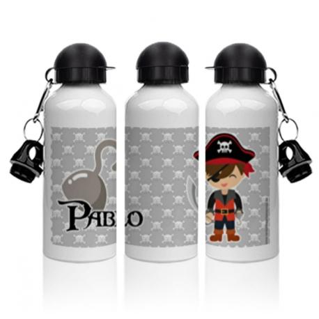 Botella aluminio - PIRATA