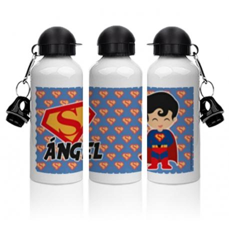 Botella aluminio - SUPERMÁN