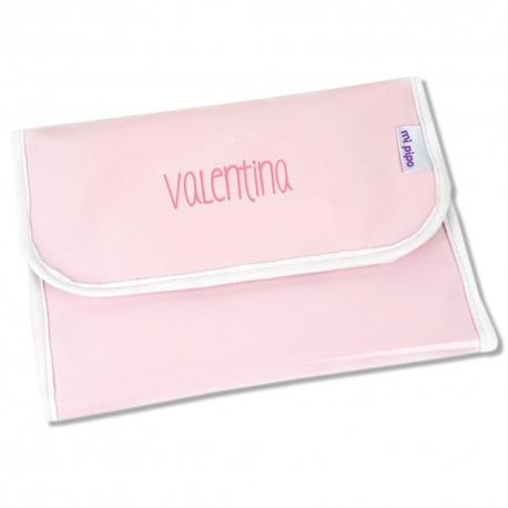 Portadocumentos Gloss Rosa Personalizado