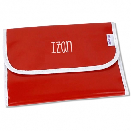 Portadocumentos Gloss Rojo Personalizado