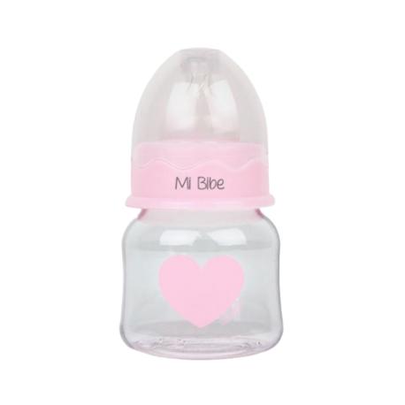 Biberón Personalizado 150ml Corazón rosa