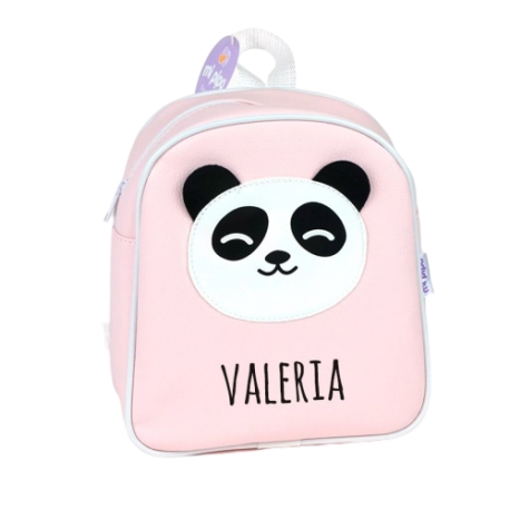 Mochila Polipiel personalizada Panda rosa